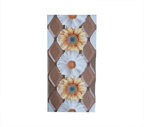 Keramik Dinding Concord Garbera Brown 2550