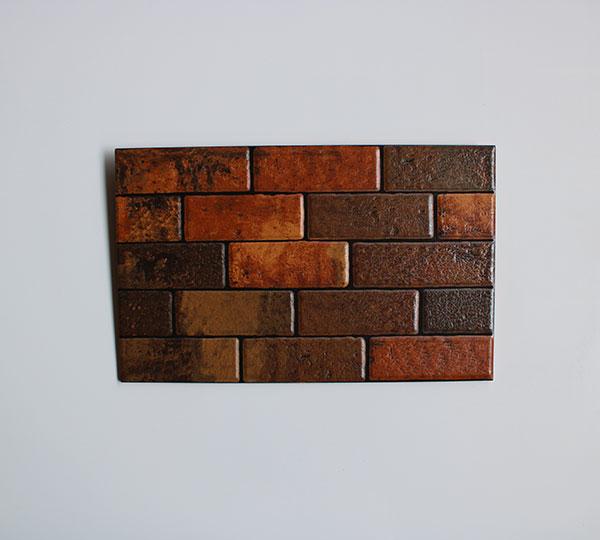 jual Keramik Dinding Mass Briquet Brown 2540
