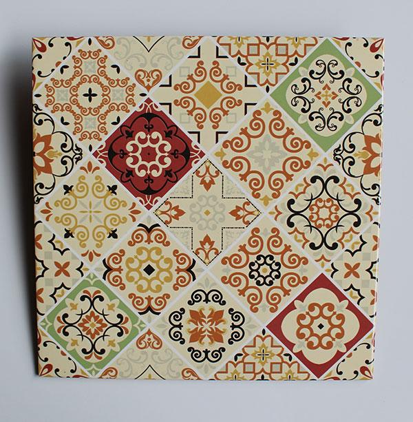 jual Keramik Lantai Asia Tile Andromeda Orange 4040