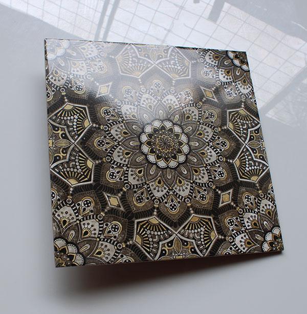 Keramik Lantai Asia Tile Istanbul Black 4040