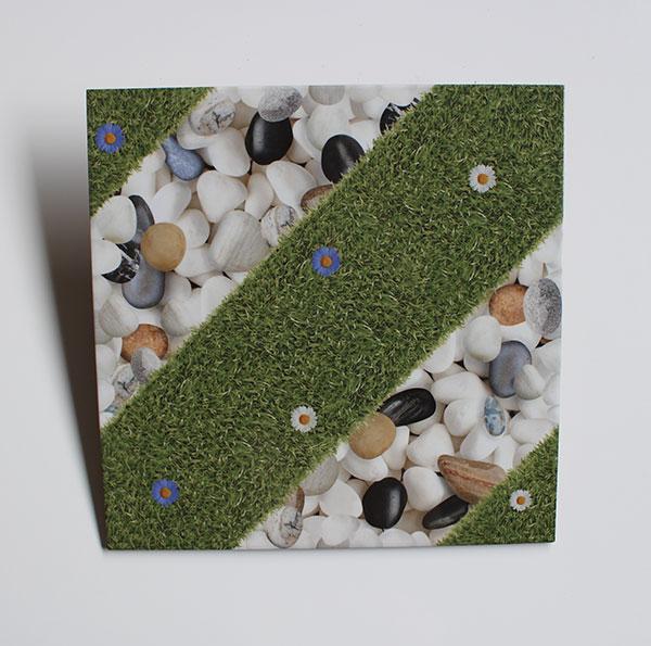 Keramik Lantai Estilo Ecograss Abu 4040