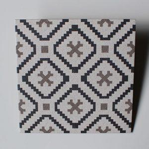 Keramik Lantai Platinum Brighton Black Decor 4040